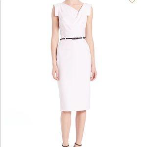 Black Halo White Jackie O Dress Size 8